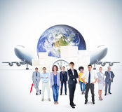 Composite image of business team Stock Image