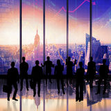 Composite image of business team Royalty Free Stock Photo
