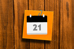 A Composite image of calander Royalty Free Stock Photography