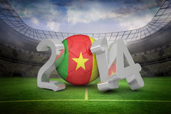 Composite image of cameroon world cup 2014 Stock Image