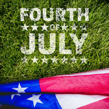 Composite image of celebrate fourth of july Royalty Free Stock Images