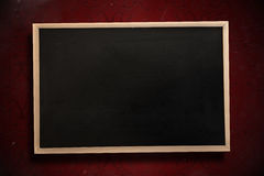 Composite image of chalkboard with wooden frame Royalty Free Stock Images