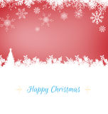 Composite image of christmas card Royalty Free Stock Photos