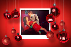 Composite image of christmas photographs Royalty Free Stock Images