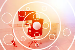 Composite image of circle organised in a circle  3d Royalty Free Stock Photography