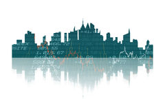 Composite image of cityscape Royalty Free Stock Photo