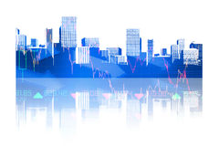 Composite image of cityscape Stock Photo