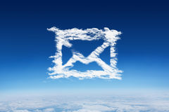 Composite image of cloud email Stock Photography