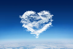Composite image of cloud heart Stock Images
