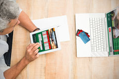 Composite image of colorful world credit cards Royalty Free Stock Photography