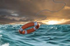 Composite image of composite image of life belt 3d vector illustration