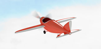 Composite image of composite image of plane icon against white background  3d Stock Photos