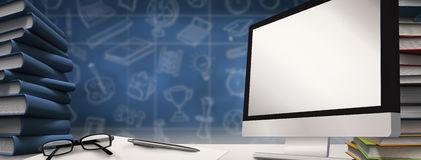 Composite image of computer screen Stock Photography