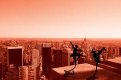 Composite image of cool break dancer Royalty Free Stock Image