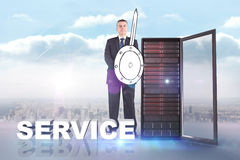 Composite image of corporate warrior Royalty Free Stock Image