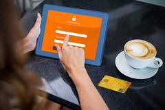 Composite image of credit card Stock Photography