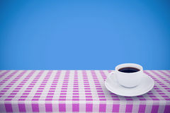 Composite image of cup of coffee Royalty Free Stock Photo