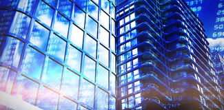Composite image of 3d illustration of modern office Stock Image