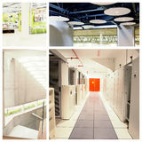Composite image of data center Royalty Free Stock Photo