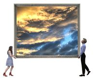 See the big picture concept stock photos