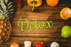 Composite image of detox Royalty Free Stock Images