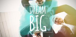 Composite image of dream big Stock Photo