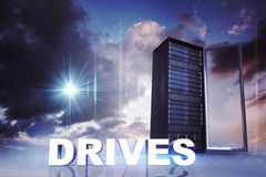 Composite image of drives Stock Images