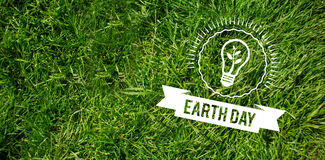 Composite image of earth day graphic Stock Photo