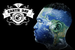 Composite image of earth day graphic Royalty Free Stock Photo