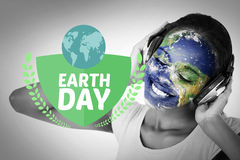 Composite image of earth day graphic Royalty Free Stock Photos