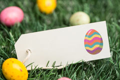 A Composite image of easter egg Royalty Free Stock Images