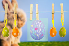 Composite image of easter egg Royalty Free Stock Image