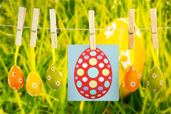 Composite image of easter egg Royalty Free Stock Images