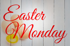 Composite image of easter monday Royalty Free Stock Image