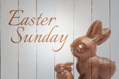 Composite image of easter sunday Stock Photos