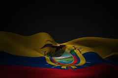 Composite image of ecuador flag waving Stock Image