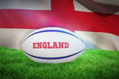 Composite image of england rugby ball Stock Images