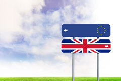 Composite image of european union flag Royalty Free Stock Images