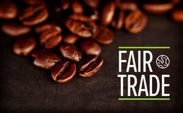 Composite image of fair trade Stock Photo