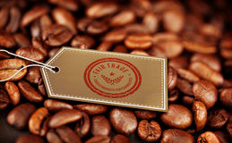 Composite image of fair trade graphic Stock Photo