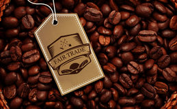 Composite image of fair trade graphic Royalty Free Stock Images