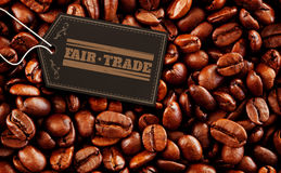 Composite image of fair trade graphic Stock Images