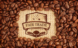 Composite image of fair trade graphic Stock Photography