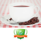 Composite image of fair trade graphic Stock Photos