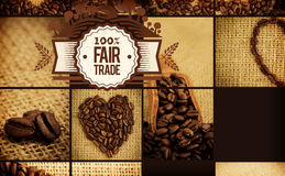 Composite image of fair trade graphic Royalty Free Stock Image