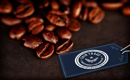 Composite image of fair trade graphic Stock Image