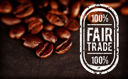 Composite image of fair trade graphic Royalty Free Stock Photos