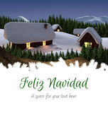 Composite image of feliz navidad Stock Photography