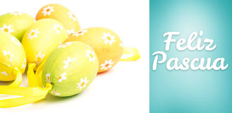 Composite image of feliz pascua Royalty Free Stock Image
