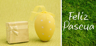 Composite image of feliz pascua Royalty Free Stock Images
